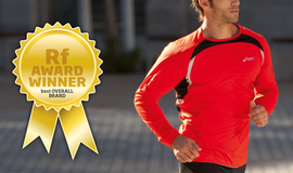 ASICS WINS BEST OVERALL BRAND in inaugural Running Fitness Awards