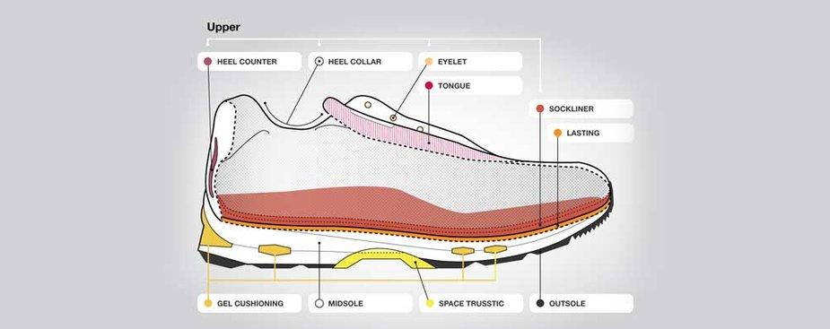Running Shoes Anatomy
