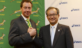ASICS Signs South African Rugby Union