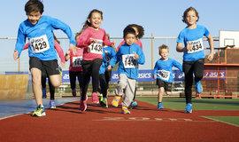 Niños: iniciación al running