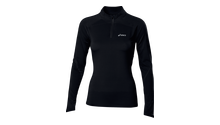 WOMEN'S LONG SLEEVE HALF ZIP TOP
