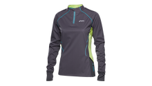 WOMENS TRAIL LS ZIP TOP
