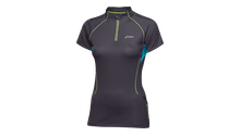 WOMENS TRAIL SS ZIP TOP