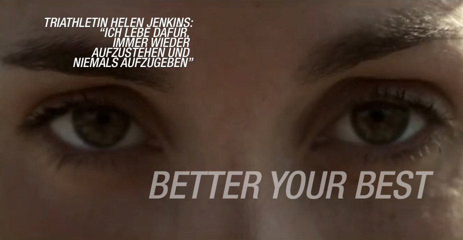 ASICS - Better Your Best - Triathlete Helen Jenkins