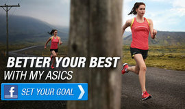 MY ASICS Facebook App